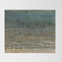 Landscape Dots - Night Throw Blanket