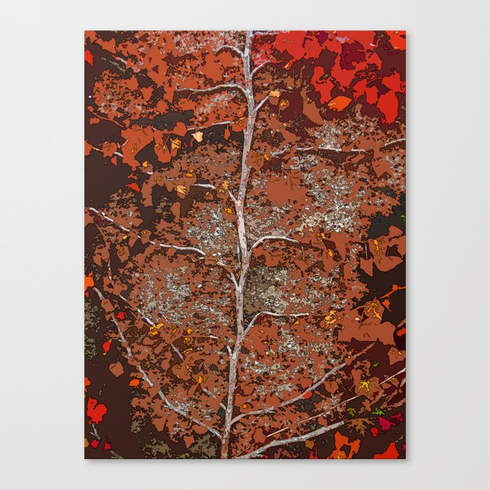 GROWN AND HAPPY Canvas Print