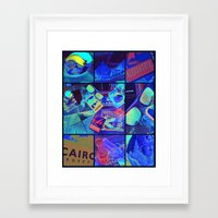 egypt Framed Art Prints featuring Egypt  by Vic[tori]a Little