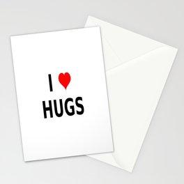 I LOVE HUGS Stationery Cards