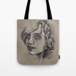 Study of a Girl 1 Tote Bag