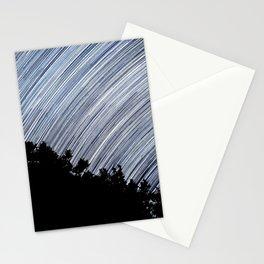 Starry Night Time Lapse Stationery Cards