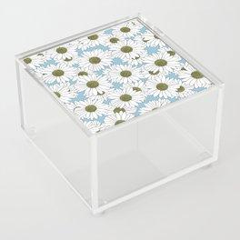 Daisy Blue Acrylic Box