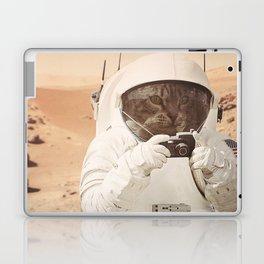 Astronaut Cat on Mars Laptop & iPad Skin