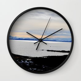Solnedgang Wall Clock