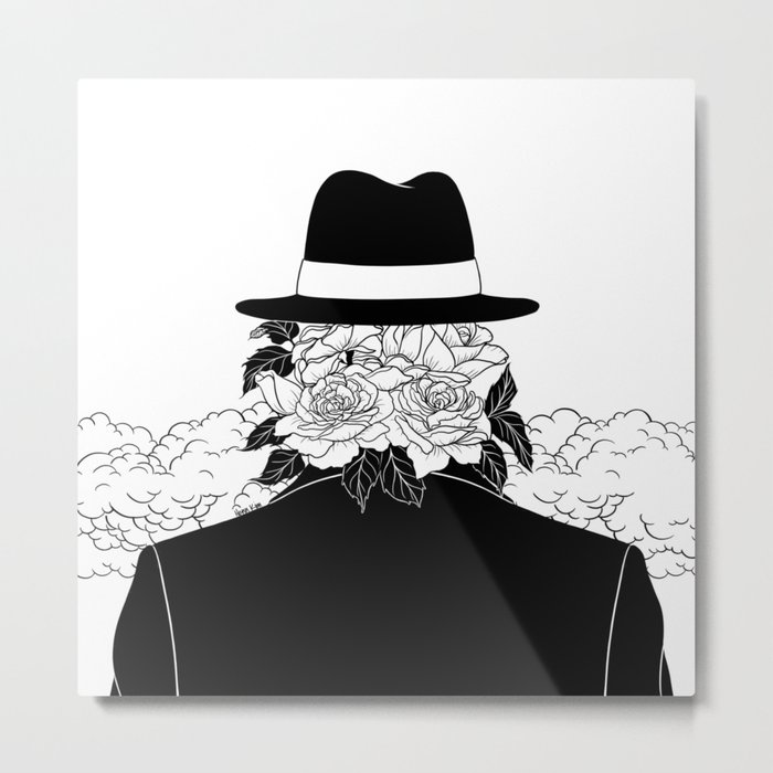 Beautiful Stranger Metal Print