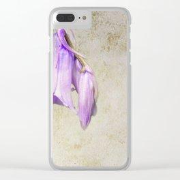 Pale Blue Clear iPhone Case