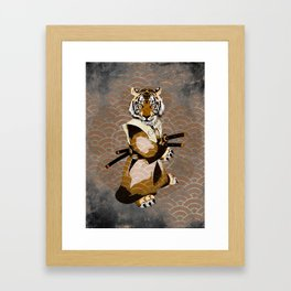 Tiger Ronin Framed Art Print