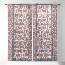 Moghan Southeast Caucasus Antique Rug Sheer Curtain