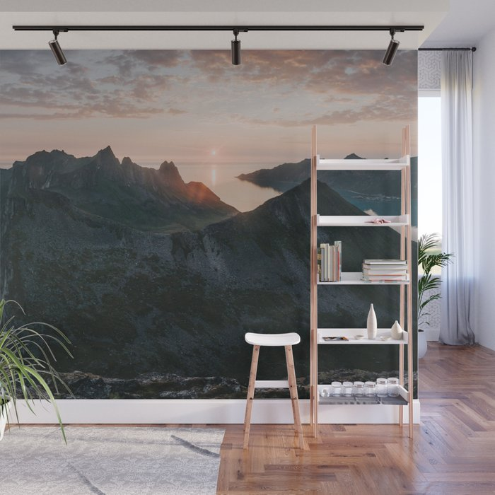 Midnight Sun - Landscape and Nature Photography Wall Mural