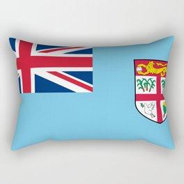 Fiji Flag Rectangular Pillow