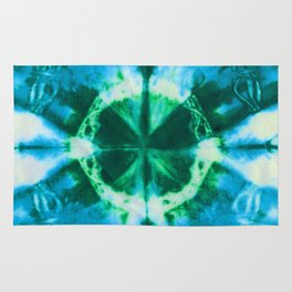 Boho Blue Bloom Rug