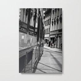 City Surfing Metal Print