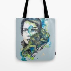 cameleon by carographic Tote Bag