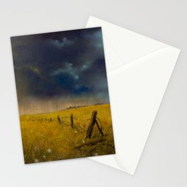 Rolling Thunder Pastel Art Print Stationery Cards
