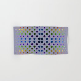 Rainbow dot, dot, dot Hand & Bath Towel
