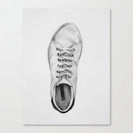 Sneaker (left) Canvas Print