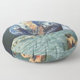 Earthly Currents Floor Pillow