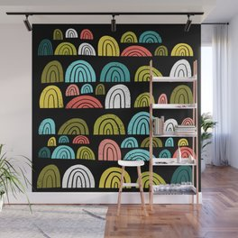 stone rainbows color Wall Mural