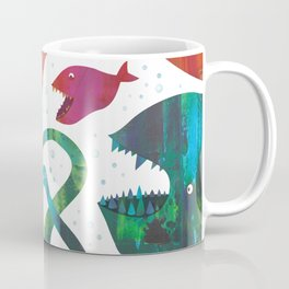 Not sure if saying hello ..or trying to kill me Coffee Mug