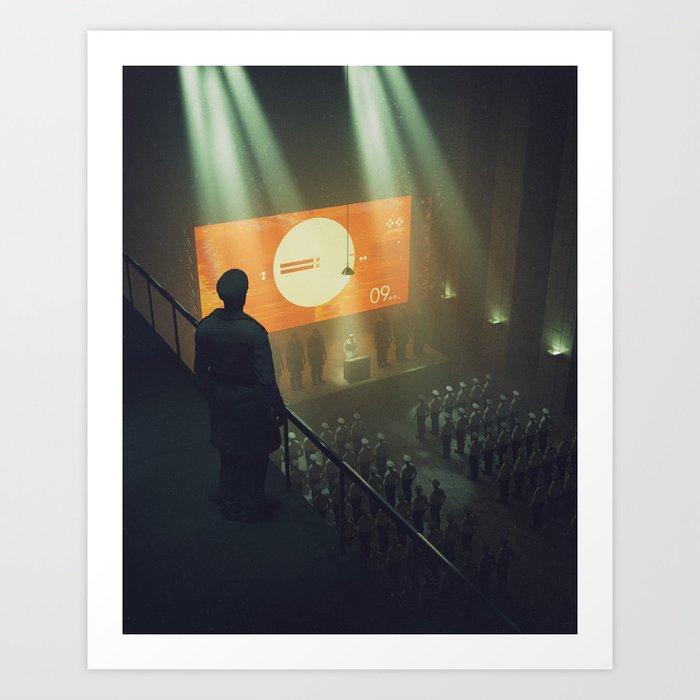 ZERO.NINE (everyday 02.06.17) Art Print