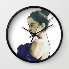 Losing Touch Wall Clock