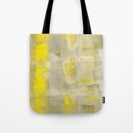 Stasis Gray & Gold 2 Tote Bag