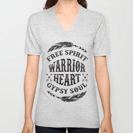 Warrior Heart Unisex V-Neck