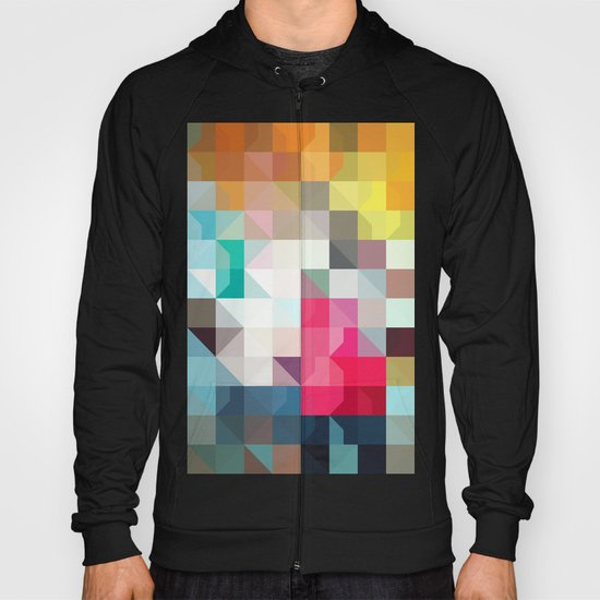 color story - pixelated warfare Hoody