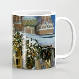 Moscow in Christmas, Russia Coffee Mug
