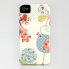 Spring Birdie iPhone (4, 4s) Slim Case