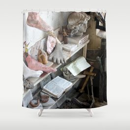 Saints come marching Shower Curtain