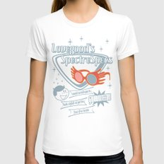 SpectreSpecs LARGE White Womens Fitted Tee