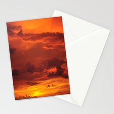 Soak up the sun. Stationery Cards
