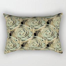 Abstract pattern , spiral. Rectangular Pillow