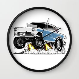 55 Classic Chevy - Tippy Toes Wall Clock