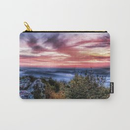Stained Sunrise Carry-All Pouch
