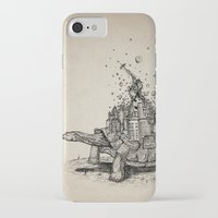 tortoise iPhone & iPod Cases featuring Tortoise Town by Brandon Dover (Braniel)