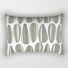 sunflower seeds Rectangular Pillow