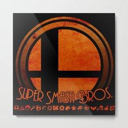 Super Smash Bros.  Metal Print