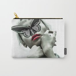 The Madame Butterfly Carry-All Pouch