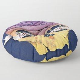 Ride Or Die Floor Pillow