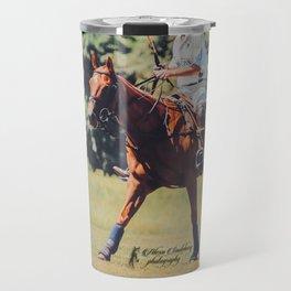 Chestnut Polo Pony Travel Mug