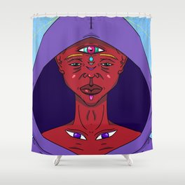 5th Eye Shower Curtain