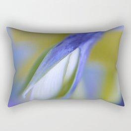 Birdflower Abstract Rectangular Pillow