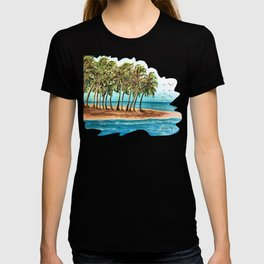 Private Island Painting T-shirt