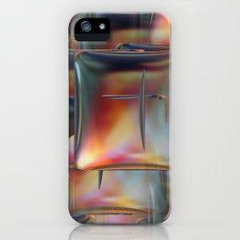 Mirrored Metallic Tile iPhone Case