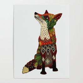 fox love off white Poster