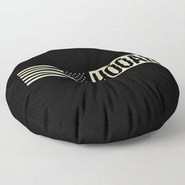 Hooah (Black Flag) Floor Pillow
