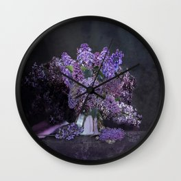 You Had Me At Purple Wall Clock